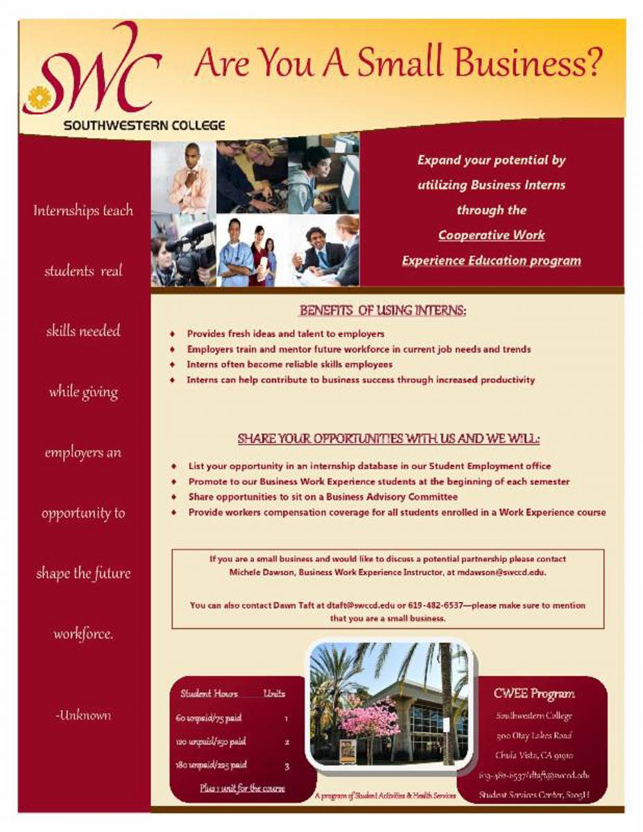 Southwestern College Business Interns