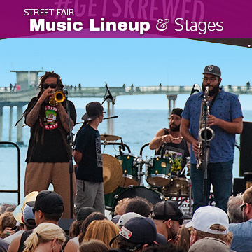 Street Fair Music Lineup and Stages