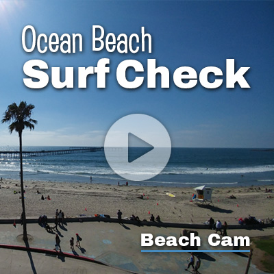 Ocean Beach Surf and Boardwalk Cam