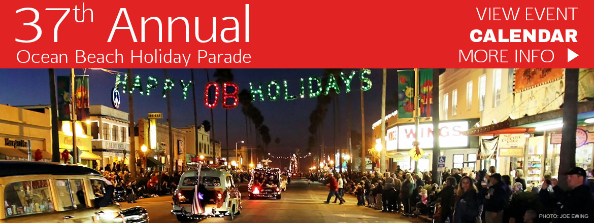 Ocean Beach Christmas Parade