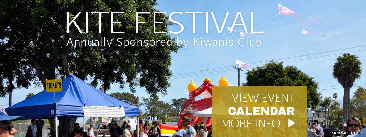 Ocean Beach Kiwanis Kite Festival at Robb Field