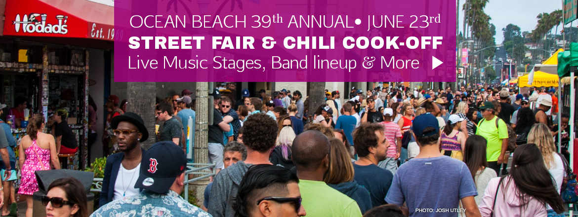 San Diego's Only Beachside Street Fair & Chili Cook-Off Festival