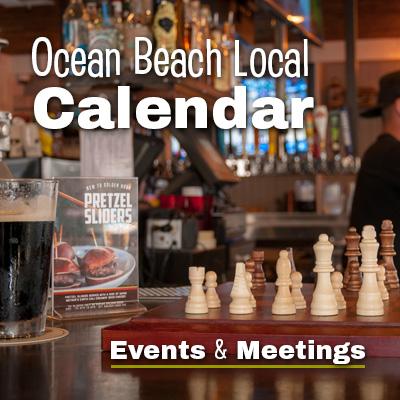 Ocean Beach Local Calendar Events and Meetings