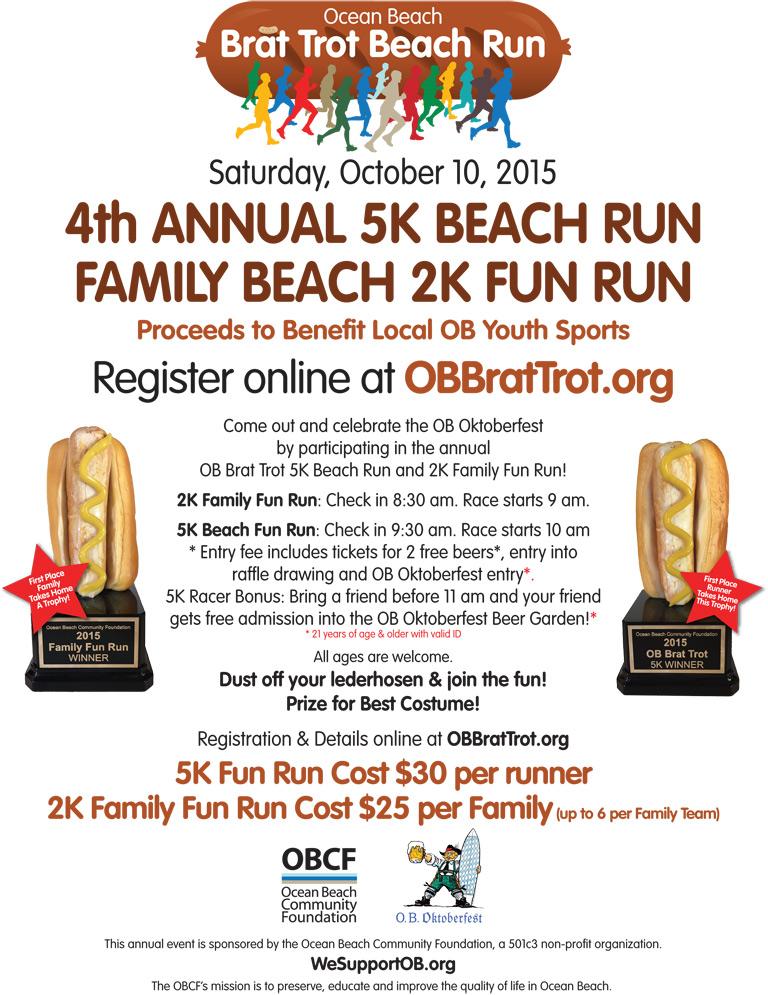 Brat Trot Beach Run