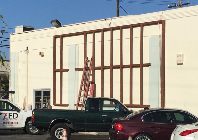 New Mural Installation Underway