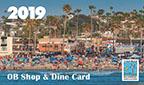 Ocean Beach News Article: 2019 OB Shop & Dine Card Available Now!