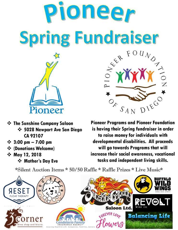 Ocean Beach News Article: Pioneer Spring Fundraiser