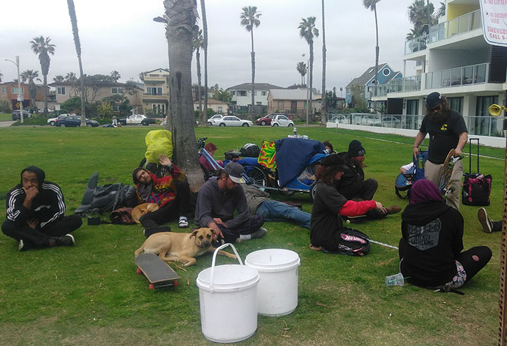 Ocean Beach News Article: OBMA speaks out on Urban Camping