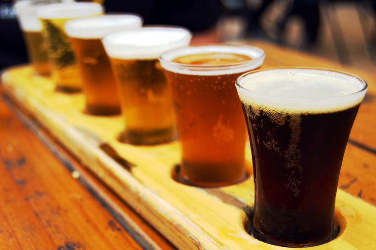 Backroom Beer Parings at Barons Market
