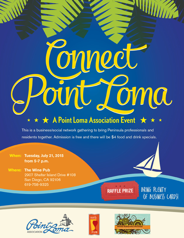 Connect Point Loma, a Point Loma Association Event at The Wine Pub