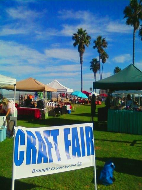 ob craft fair ocean beach san diego ca news