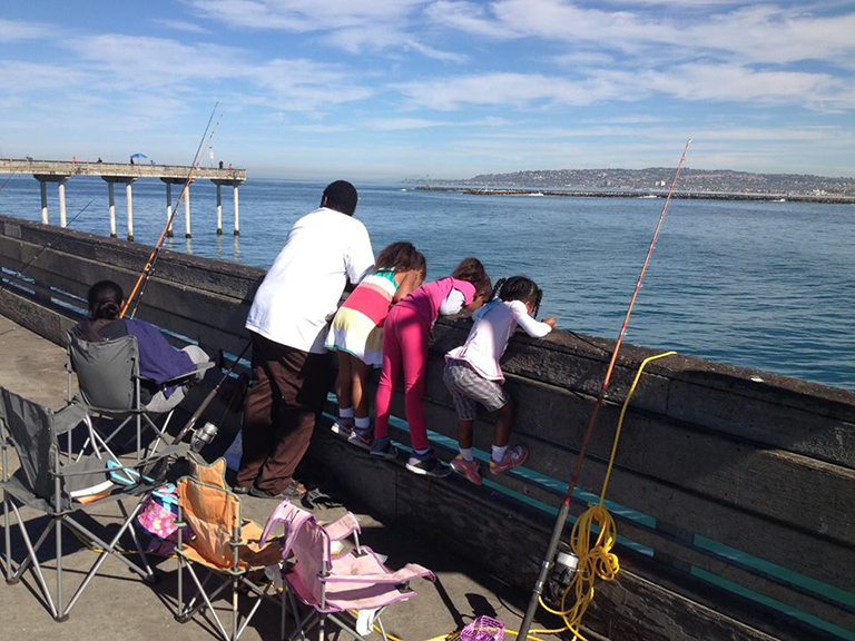 Fishing Derby at OB Pier Hosted by Kiwanis Club of OB