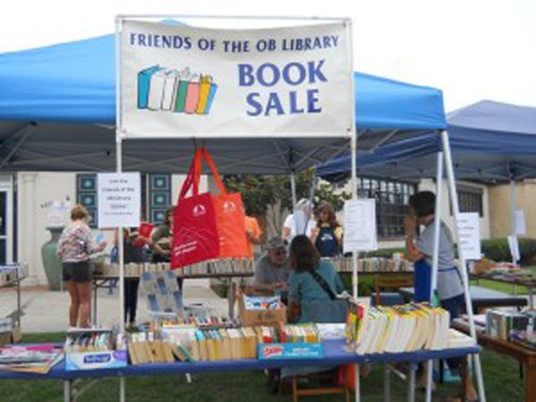 Friends of Ocean Beach Library Book Sale