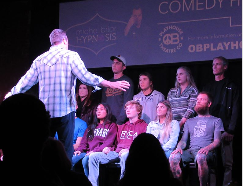 Comedy Hypnotist at OB Playhouse