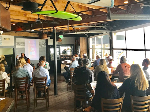 Ocean Beach News Article: OBMA Business Development Series: Social Media Workshop