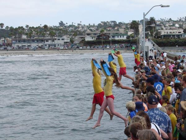 San Diego Junior Lifeguards ready to take the plunge