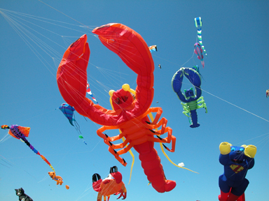 Ocean Beach News Article: Annual Kiwanis Kite Festival