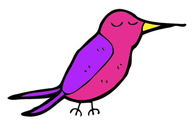 Lazy Hummingbird logo
