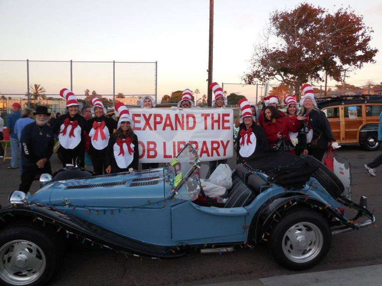 Friends of the OB Library at OB Holiday Parade