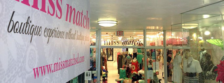 Miss Match Clothing in Local Commercial
