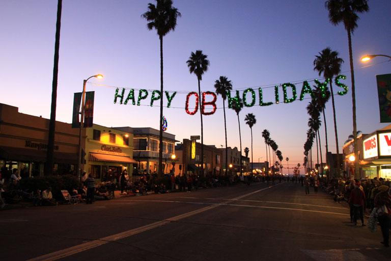 OB Town Council's Holiday Food and Toy Drive