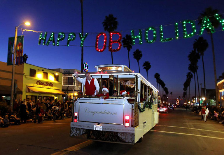 Ocean Beach Town Council Holiday Parade Winners