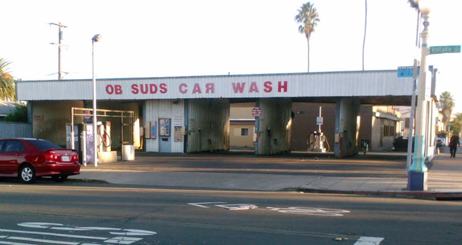 OB Suds Carwash home to notable ashes | Ocean Beach San