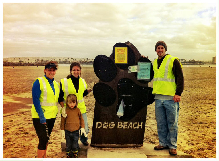 DOG BEACH Clean-Up