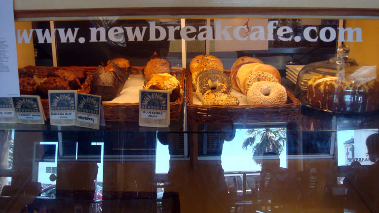 Newbreak Cafe releases new drink and food menu items, drink specials and more - yum!