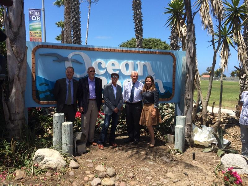 OB entryway sign unveiled