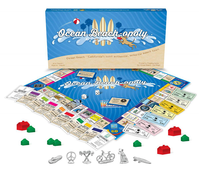 Ocean Beach-opoly is Coming to Town!