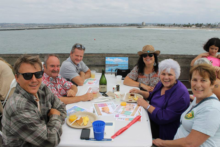 Annual Ocean Beach Pier Pancake Breakfast with OB Town Council