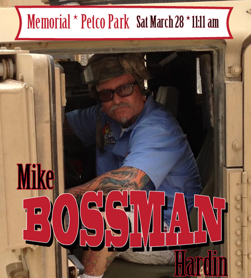 Mike Hardin Bossman Ocean Beach Hodads Burgers Petco Park