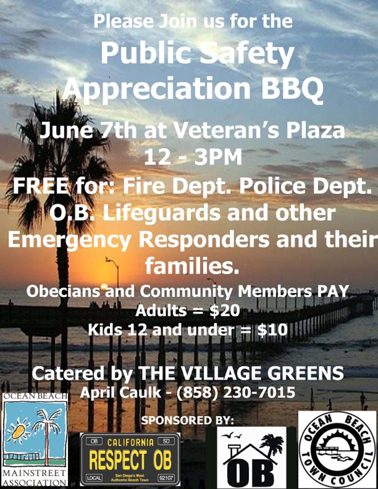 Ocean Beach Public Safety Appreciation BBQ