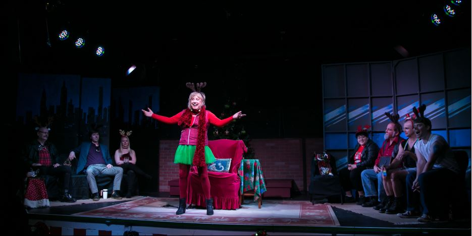 The Eight: Reindeer Monologues at OB Playhouse
