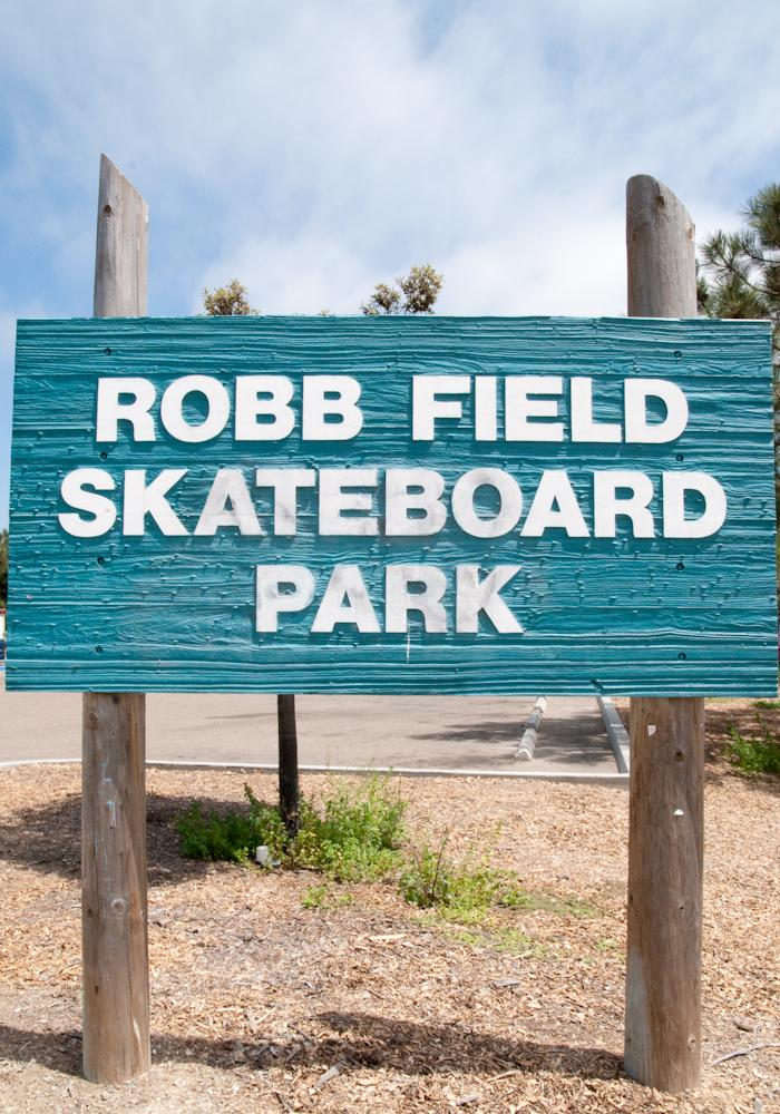 Ocean Beach Robb Field Skateboard Park