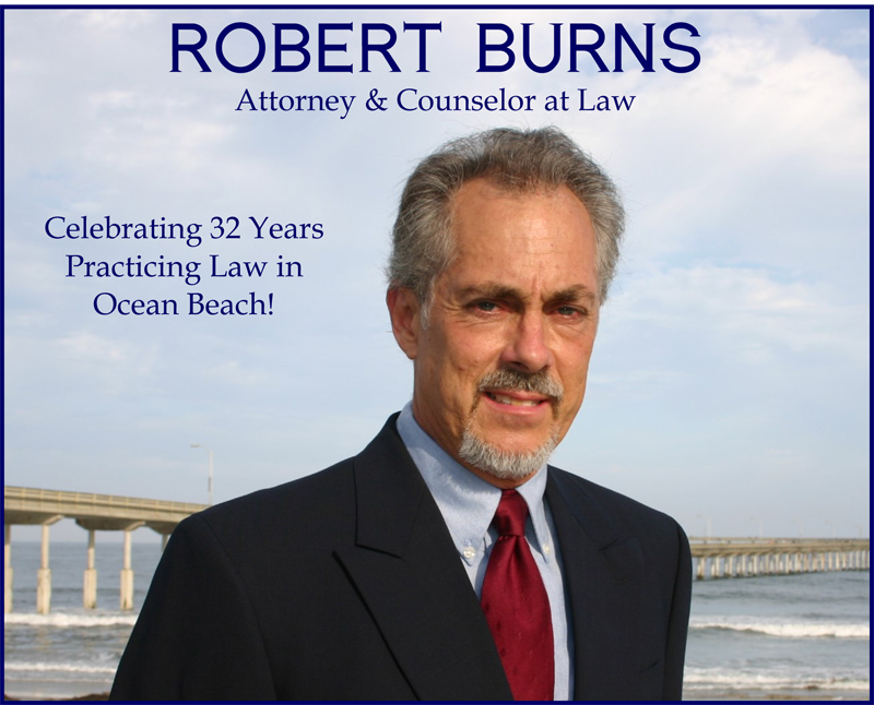 Robert Burns Attorney at Law Ocean Beach