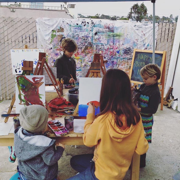 Make & Take Class at Saans Lena Studio