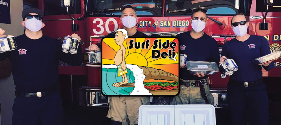 Ocean Beach News Article: Surf Side Deli is open and supporting our community!