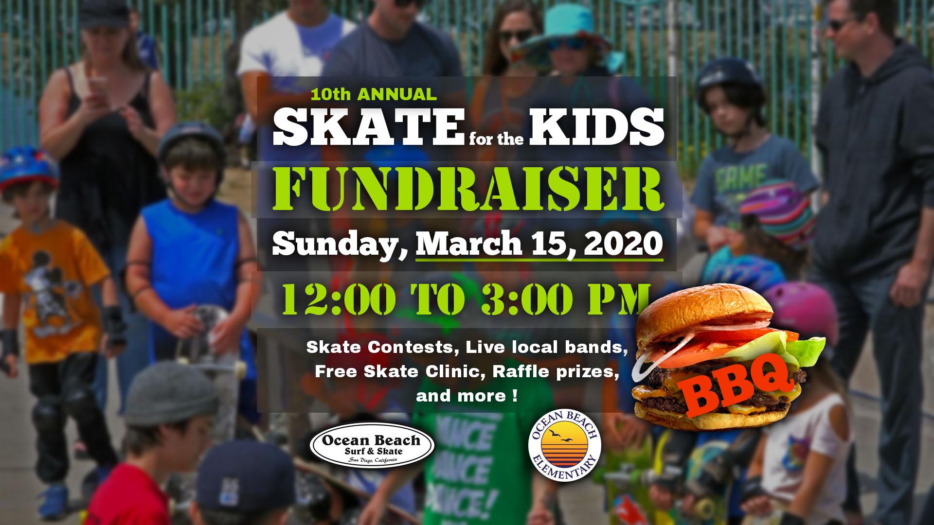 Ocean Beach News Article: 10th Annual Skate for the Kids