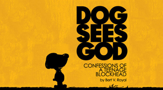 Ocean Beach News Article: Dog Sees God at OB Playhouse