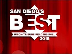 San Diego's Best Union-Tribune Readers Poll 2015
