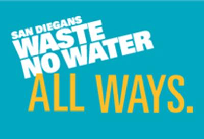 San Diegans Waste No Water