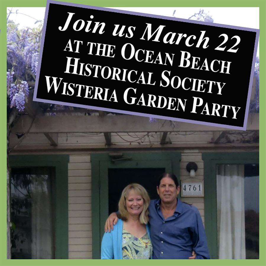 Ocean Beach News Article: Wisteria Garden Party