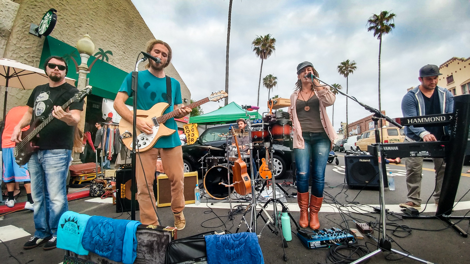 Local Musicians Playing at OB Farmers Market