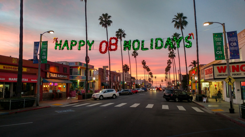 Newport Avenue Happy OB Holidays (2018)