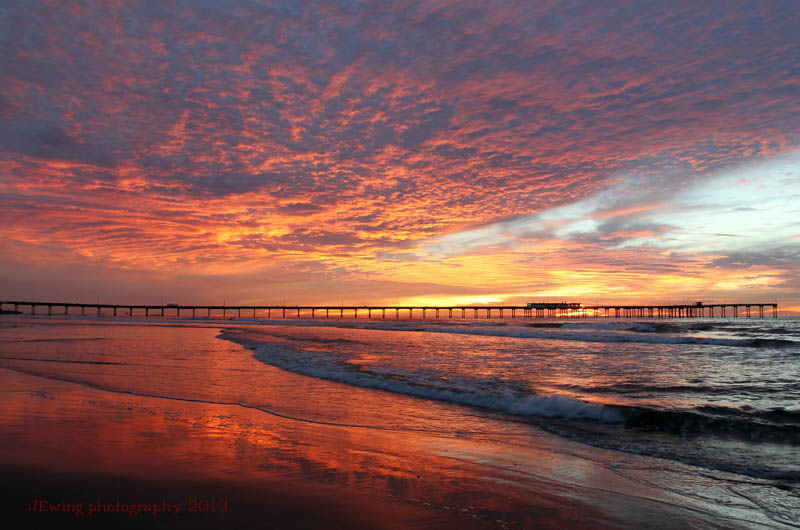 OB Pier Photo by Joe Ewing