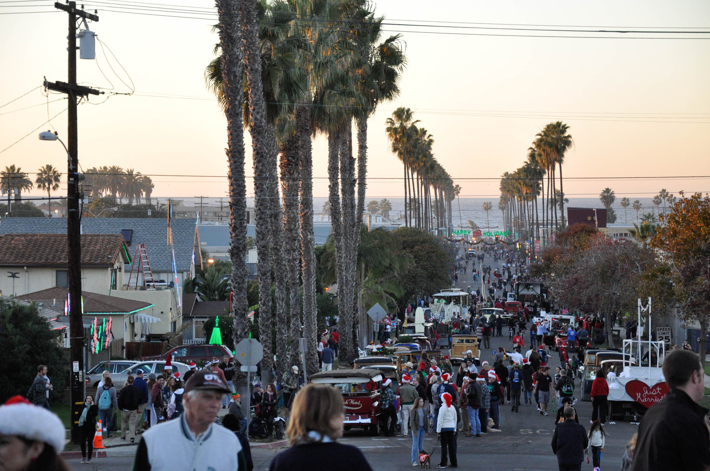 OB Holiday Parade 2016 | Ocean Beach San Diego CA