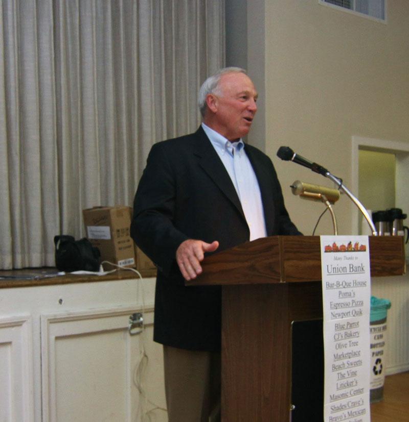 2009 San Diego mayor Jerry Sanders
