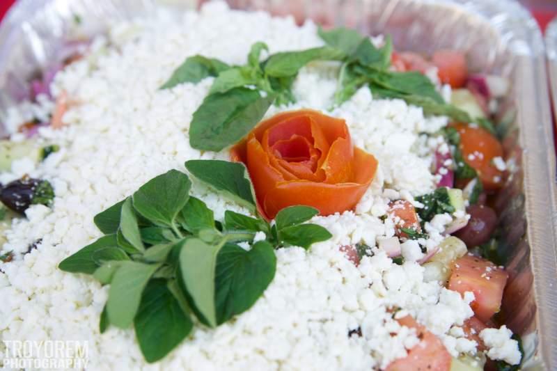 OB Salad Rose